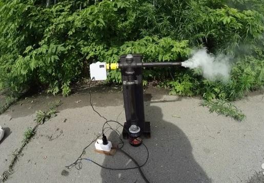 Дымогенератор самодельный