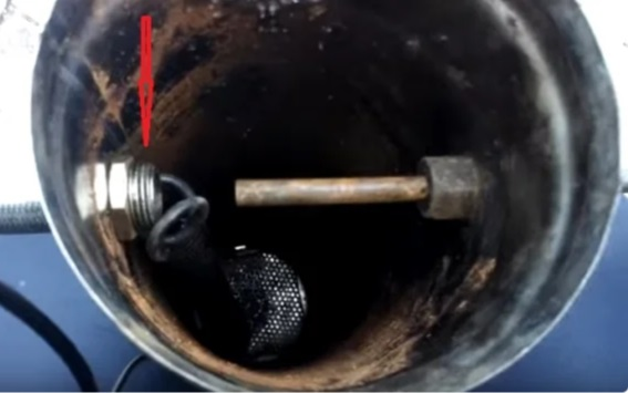 Эжектор дымогенератора